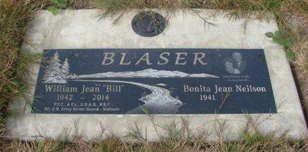 BLASER, WILLIAM JEAN - Tillamook County, Oregon   WILLIAM JEAN BLASER - Oregon Gravestone Photos