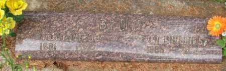 PHILLIPS BLUM, EVA LAURA - Tillamook County, Oregon | EVA LAURA PHILLIPS BLUM - Oregon Gravestone Photos