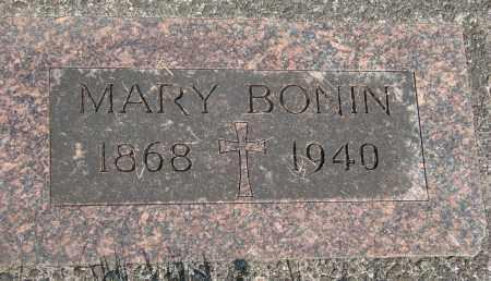 BONIN, MARY - Tillamook County, Oregon | MARY BONIN - Oregon Gravestone Photos