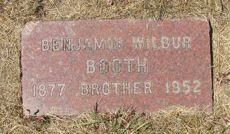 BOOTH, BENJAMIN WILBUR - Tillamook County, Oregon | BENJAMIN WILBUR BOOTH - Oregon Gravestone Photos