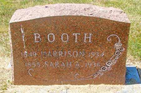 BOOTH, HARRISON - Tillamook County, Oregon | HARRISON BOOTH - Oregon Gravestone Photos