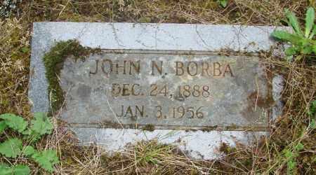 BORBA, JOHN N - Tillamook County, Oregon | JOHN N BORBA - Oregon Gravestone Photos