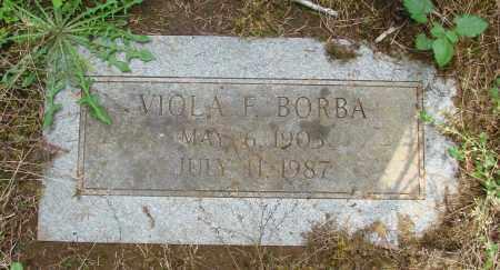 BORBA, VIOLA F - Tillamook County, Oregon   VIOLA F BORBA - Oregon Gravestone Photos