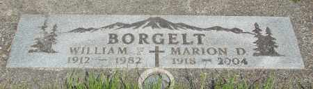 BORGELT, MARION D - Tillamook County, Oregon | MARION D BORGELT - Oregon Gravestone Photos