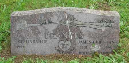 BRANDES, GERLINDA LUE - Tillamook County, Oregon   GERLINDA LUE BRANDES - Oregon Gravestone Photos