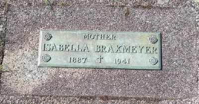 BRAXMEYER, ISABELLA - Tillamook County, Oregon   ISABELLA BRAXMEYER - Oregon Gravestone Photos