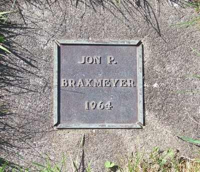 BRAXMEYER, JON P - Tillamook County, Oregon | JON P BRAXMEYER - Oregon Gravestone Photos