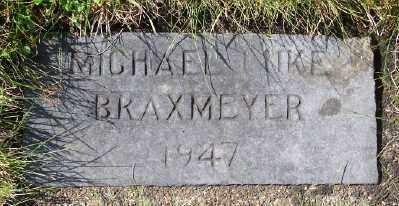 BRAXMEYER, MICHAEL LUKE - Tillamook County, Oregon | MICHAEL LUKE BRAXMEYER - Oregon Gravestone Photos
