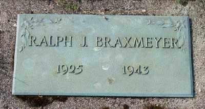 BRAXMEYER, RALPH J - Tillamook County, Oregon | RALPH J BRAXMEYER - Oregon Gravestone Photos