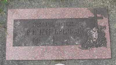 BRENNAN, R F - Tillamook County, Oregon | R F BRENNAN - Oregon Gravestone Photos