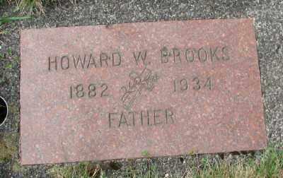 BROOKS, HOWARD W - Tillamook County, Oregon | HOWARD W BROOKS - Oregon Gravestone Photos