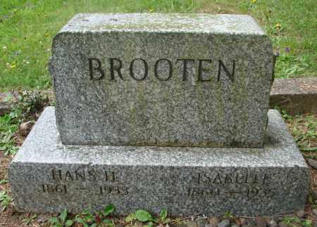 BROOTEN, ISABELLE - Tillamook County, Oregon | ISABELLE BROOTEN - Oregon Gravestone Photos