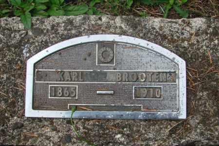 BROOTEN, KARL - Tillamook County, Oregon | KARL BROOTEN - Oregon Gravestone Photos