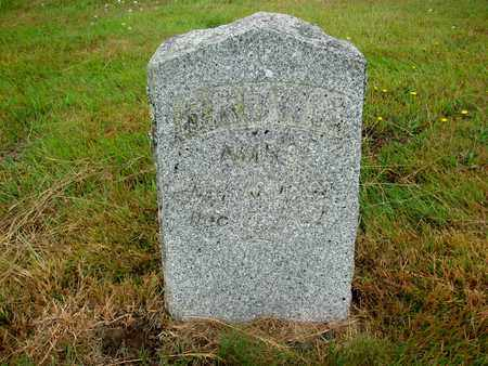BROWN, AMBO - Tillamook County, Oregon   AMBO BROWN - Oregon Gravestone Photos
