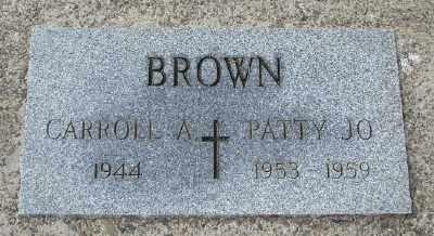 BROWN, PATTY JO - Tillamook County, Oregon | PATTY JO BROWN - Oregon Gravestone Photos