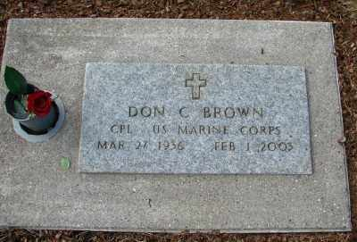 BROWN, DON C - Tillamook County, Oregon | DON C BROWN - Oregon Gravestone Photos