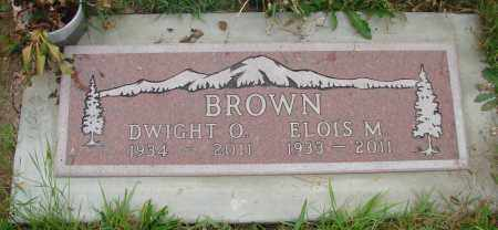 BROWN, ELOIS M - Tillamook County, Oregon | ELOIS M BROWN - Oregon Gravestone Photos