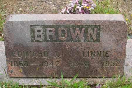 BROWN, EDWARD J - Tillamook County, Oregon | EDWARD J BROWN - Oregon Gravestone Photos