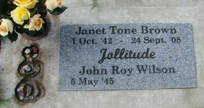TONE BROWN, JANET - Tillamook County, Oregon | JANET TONE BROWN - Oregon Gravestone Photos