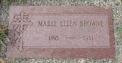 BROWNE, MABLE ELLEN - Tillamook County, Oregon | MABLE ELLEN BROWNE - Oregon Gravestone Photos