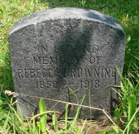 BROWNING, REBECCA - Tillamook County, Oregon | REBECCA BROWNING - Oregon Gravestone Photos