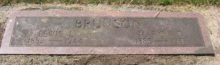 BRUNSON, LEWIS L - Tillamook County, Oregon | LEWIS L BRUNSON - Oregon Gravestone Photos