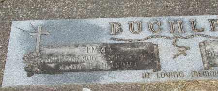 BUCHLER, EMMA - Tillamook County, Oregon | EMMA BUCHLER - Oregon Gravestone Photos