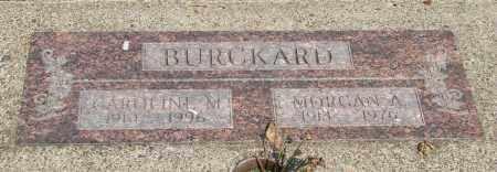 BURCKARD, CAROLINE M - Tillamook County, Oregon | CAROLINE M BURCKARD - Oregon Gravestone Photos