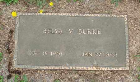 BURKE, BELVA V - Tillamook County, Oregon   BELVA V BURKE - Oregon Gravestone Photos