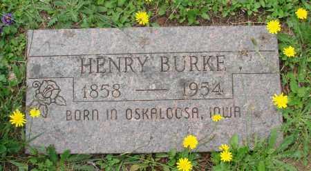 BURKE, HENRY - Tillamook County, Oregon | HENRY BURKE - Oregon Gravestone Photos