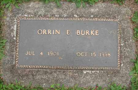 BURKE, ORRIN E - Tillamook County, Oregon   ORRIN E BURKE - Oregon Gravestone Photos