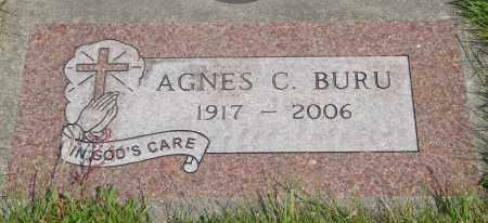 BURU, AGNES C - Tillamook County, Oregon   AGNES C BURU - Oregon Gravestone Photos