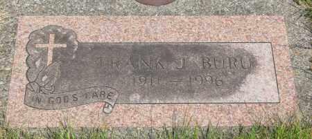 BURU, FRANK J - Tillamook County, Oregon | FRANK J BURU - Oregon Gravestone Photos
