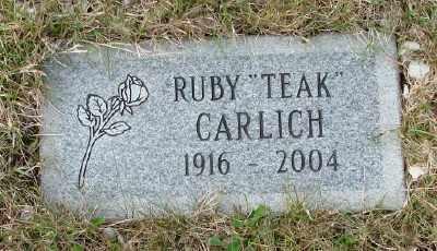 CARLICH, RUBY - Tillamook County, Oregon | RUBY CARLICH - Oregon Gravestone Photos