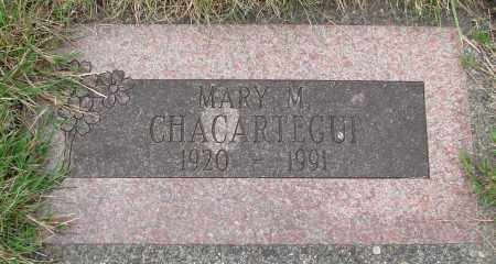 CHACARTEGUI, MARY M - Tillamook County, Oregon | MARY M CHACARTEGUI - Oregon Gravestone Photos
