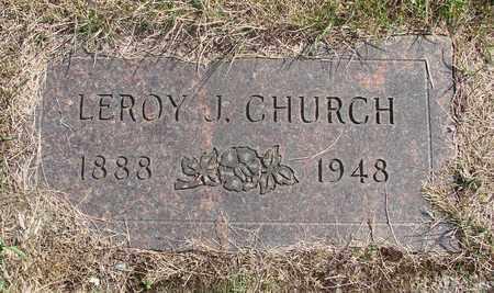 CHURCH, LEROY J - Tillamook County, Oregon | LEROY J CHURCH - Oregon Gravestone Photos