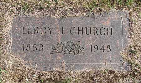 CHURCH, LEROY J - Tillamook County, Oregon | LEROY J CHURCH - Oregon Gravestone Photos