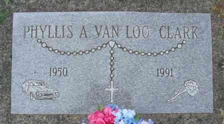 VAN LOO CLARK, PHYLLIS ANN - Tillamook County, Oregon | PHYLLIS ANN VAN LOO CLARK - Oregon Gravestone Photos