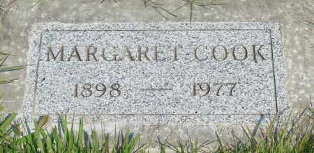 COOK, MARGARET - Tillamook County, Oregon   MARGARET COOK - Oregon Gravestone Photos