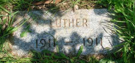 COULSON, LUTHER - Tillamook County, Oregon | LUTHER COULSON - Oregon Gravestone Photos