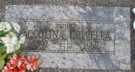 GALLO CRIVELLA, ACCOLINA - Tillamook County, Oregon | ACCOLINA GALLO CRIVELLA - Oregon Gravestone Photos