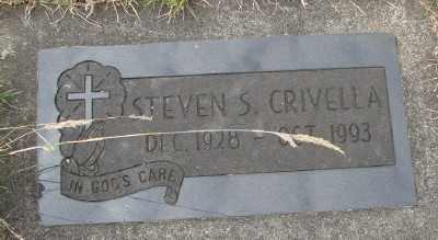 CRIVELLA, STEVEN SALVADOR - Tillamook County, Oregon   STEVEN SALVADOR CRIVELLA - Oregon Gravestone Photos