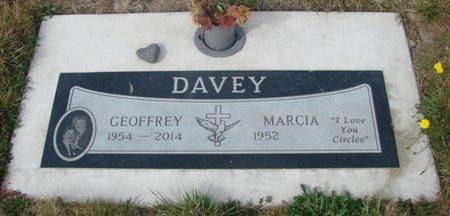 DAVEY, MARCIA - Tillamook County, Oregon | MARCIA DAVEY - Oregon Gravestone Photos