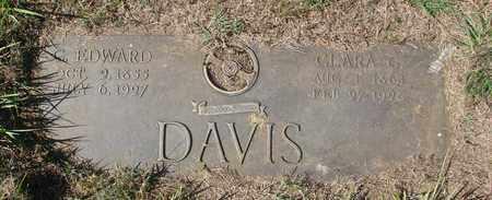 DAVIS, CLARA - Tillamook County, Oregon | CLARA DAVIS - Oregon Gravestone Photos