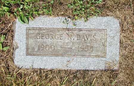 DAVIS, GEORGE N - Tillamook County, Oregon   GEORGE N DAVIS - Oregon Gravestone Photos