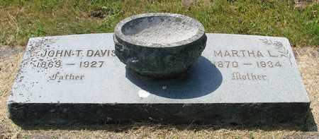DAVIS, MARTHA L - Tillamook County, Oregon | MARTHA L DAVIS - Oregon Gravestone Photos