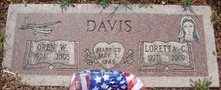 DAVIS, LORETTA C - Tillamook County, Oregon   LORETTA C DAVIS - Oregon Gravestone Photos
