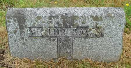 DAVIS, VICTOR - Tillamook County, Oregon | VICTOR DAVIS - Oregon Gravestone Photos