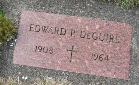 DEGUIRE, EDWARD P - Tillamook County, Oregon | EDWARD P DEGUIRE - Oregon Gravestone Photos
