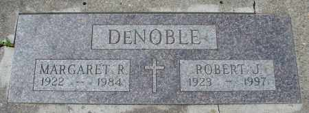 DENOBLE, MARGARET R - Tillamook County, Oregon | MARGARET R DENOBLE - Oregon Gravestone Photos